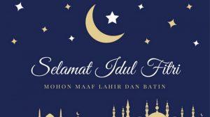 Selamat Lebaran dari Gedung Kesenian Jakarta